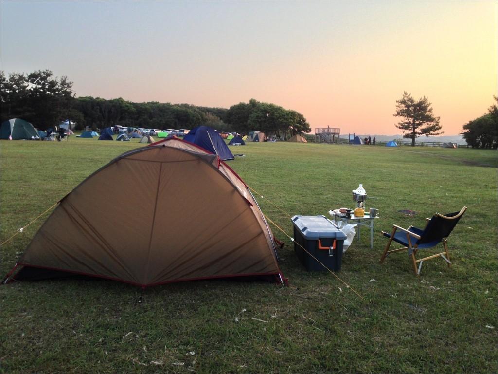 1人旅のキャンプツーリングはきままで最高!