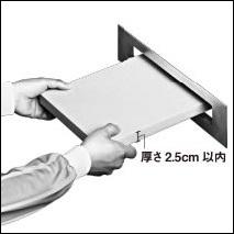 ネコポスの厚さ側手定規を手に入れる方法