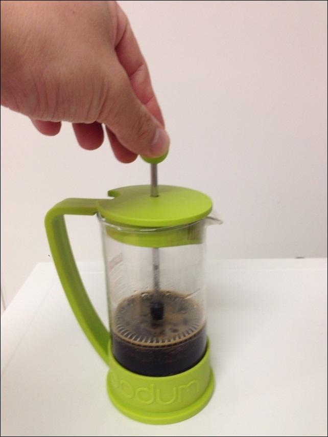 コーヒーが出来上がりました
