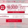 期間限定でエポスカードが最大8000円分のポイントプレゼントキャンペーンを開催中!